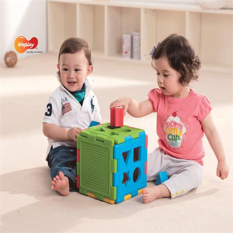Weplay All-in-One Creative Learning Cube Set,Learning Cube Set (18-Pieces),Each,KC3001