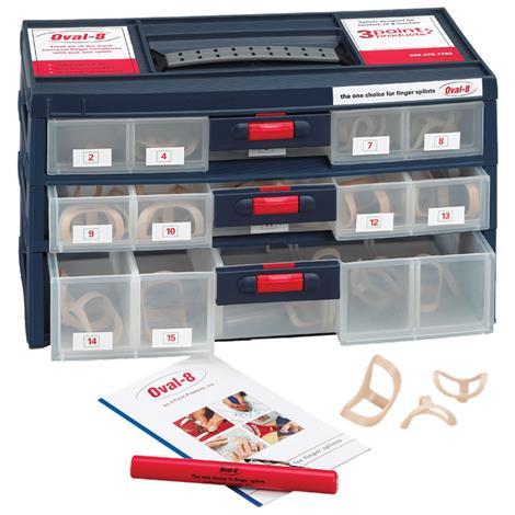 3pp Oval 8 Finger Splints Kit,Kit,Each,927279