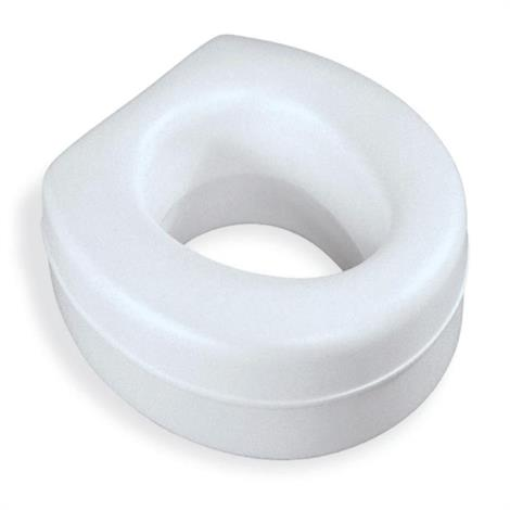 Medline Elevated Toilet Seat,Elevated Toilet Seat,3/Case,MDS80318RW