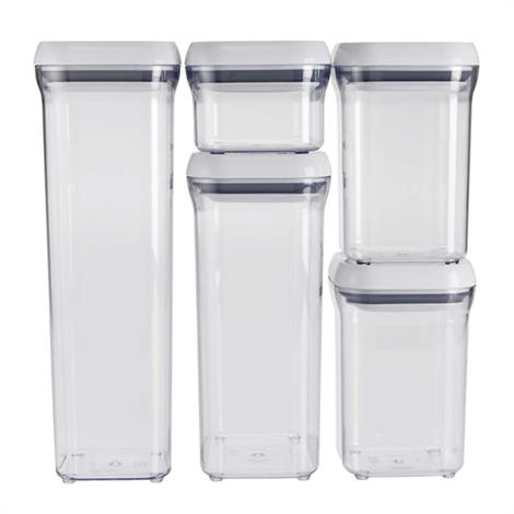 OXO Good Grips 5-Piece Pop Container Set,5-Piece Pop Container Set,Each,1165600