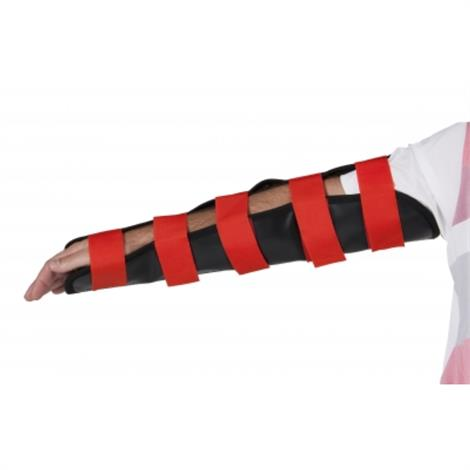 Graham-Field Adult Fracture Kit,Replacement Adult Arm Splint,Black/Red,Each,6011
