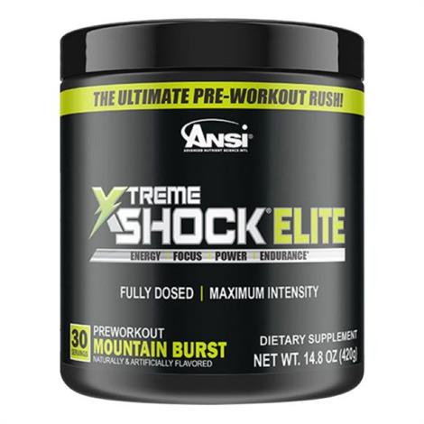 ANSI Xtreme Shock Elite Dietary ,Blue Razz,Each,1460441