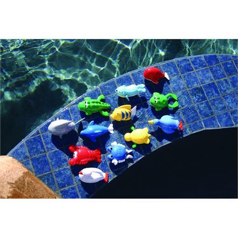 Sprint Aquatics Windup Animals Set,Set Of 12,Each,Spa132