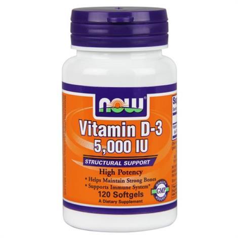 Now D-3 Dietary Supplement,D-3, 10000iu,Each,9440376