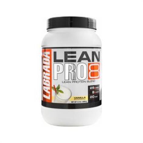 Labrada Lean Pro8 Supplement,Chocolate 2.2lb,Each,790720