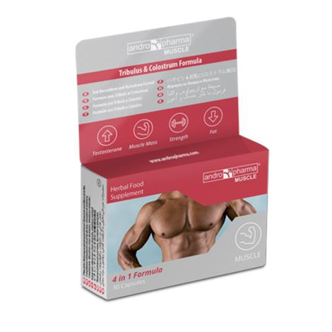 Andropharma Muscle Herbal Food ,Muscle Herbal Food ,Each,2546