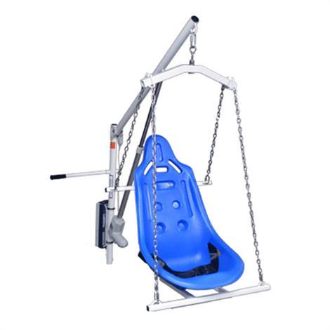 Aqua Creek EZ Series Pool Lift Hard Seat,Hard Seat with 4-Point Hanger,EZ/PEZ/SPEZ,Each,F-0320HSO-4C