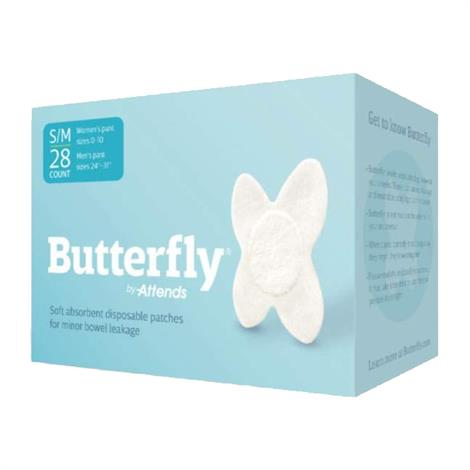 Attends Butterfly Body Patches,Large/X-Large,28/Pack,2400082