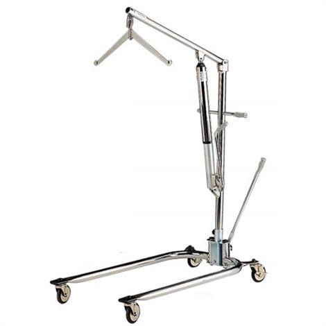 Hoyer Classics Hydraulic Chrome Manual Patient Lift,Standard,Each,C-HLA-2