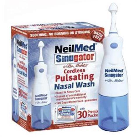NeilMed Sinugator Pulsating Nasal Wash Kit,Wash Kit,Each,SG-ENU-US