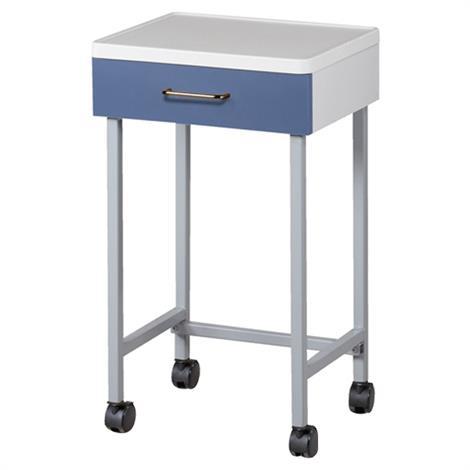 Clinton Molded Top Mobile Auxiliary Cart,0,Each,8901-A