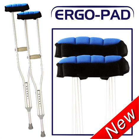 Ergoactive Ergopad Double Layered Foam Pad With Lateral Cushioned Support,Ergopad,Pair,A038