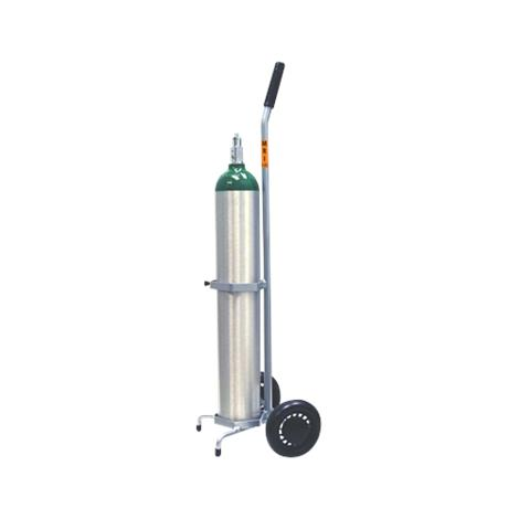 "Responsive Respiratory Non Magnetic MRI Single D And E Cylinder Cart,6"" Wheels,Each,150-0101 RRI150-0101"