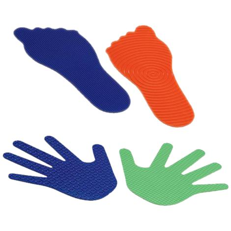 FlagHouse Feelies Hands and Feet Set,Feelies for Hands and Feet,24/Pack,39781