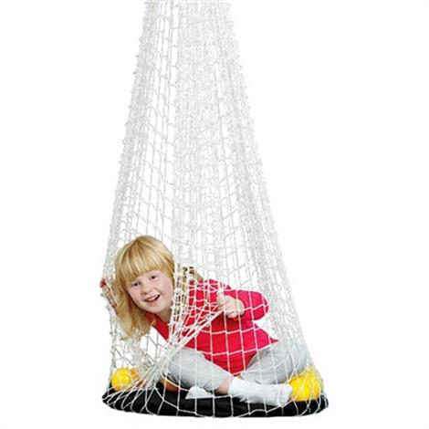"FlagHouse Therapy Net Deluxe Swing and Board Set,Net: 48"" High,Board: 23"" Diameter,Each,42172"