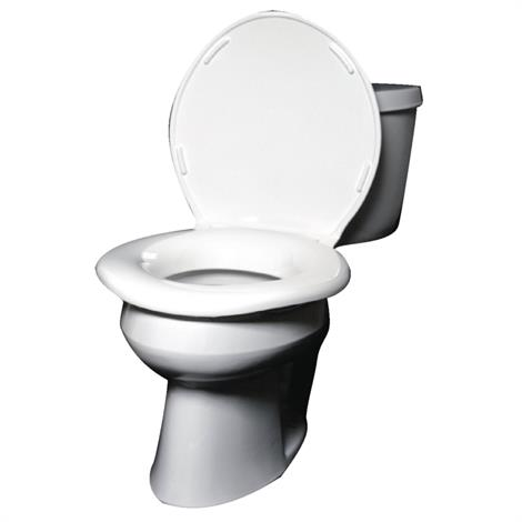 "Big John Toilet Seat,19"" in diameter by 2-3/8"" tall,Each,559376"