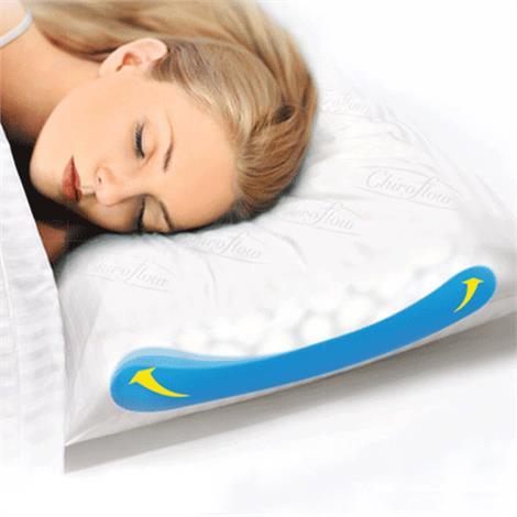 "Chiroflow Waterbase Pillow,Travel Size,13-1/2"" x 21"",Each,1141-06"