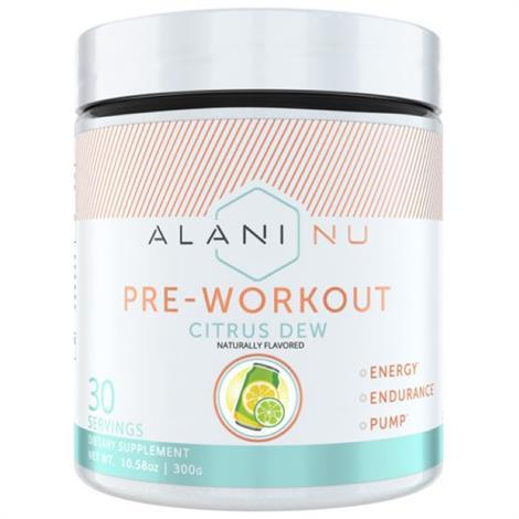 Alani Nu Pre Workout Dietary ,Citrus dew,Each,5500011