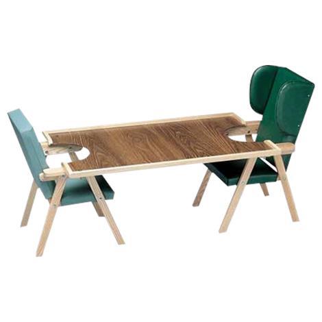"""Bailey Kinder Chair Double Tray,Double tray: 24"""" x 40"""",Each,BM151"""
