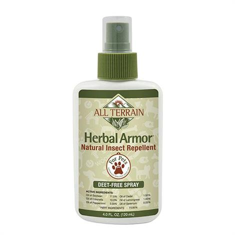 All Terrain Herbal Armor Natural Insect Repellent Spray,4oz,Each,231283