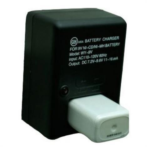 BioMedical NiMH Rechargable 9 Volt Battery,9 Volt Battery,Each,L00086