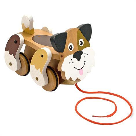 Melissa & Doug Playful Puppy Pull Toy,6.25 x 6.25 x 9,Each,3028