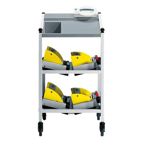 """Seca Digital Bed And Dialysis Scale With Equippment Trolley,20.5""""W x 36.5""""H x 22.1""""D (520mm x 927mm x 562mm),Each,SECA984"""