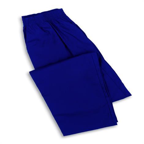Medline Ladies Elastic Waist Pants - Navy,3X-Large,Each,MDT75133NV3XL