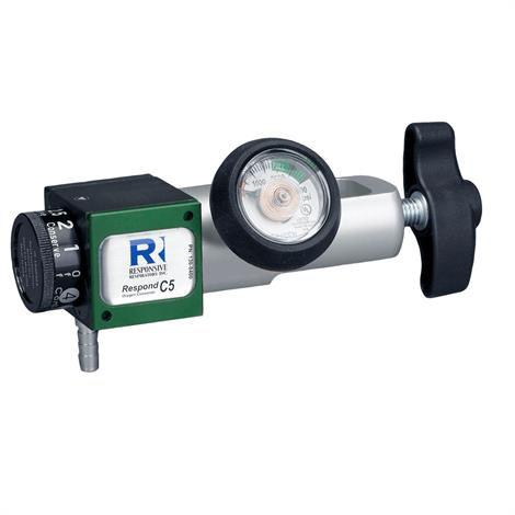"Responsive Respiratory Respond C5 Single Lumen Oxygen Conserver,4.8"" L x 1.8"" W x 1.5"" H,12.9 oz,Each,130-0400"