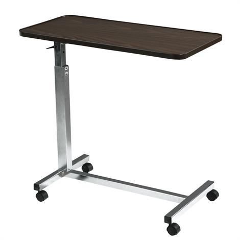 Drive Non Tilt Top Overbed Table,Silver Vein Base,Each,13067