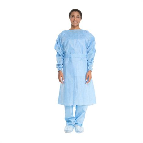 Secure Personal Care Non-Surgical Polyethylene Isolation Gown,Polyethylene Isolation Gown,10/Pack,10Pk/Case,RSP0010