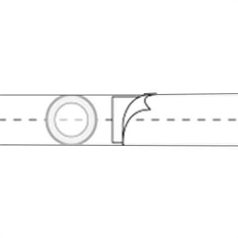 Nu-Hope Nu-Form 5 Inches Regular Elastic Ostomy Support Belt With Prolapse Belt,0,Each,0