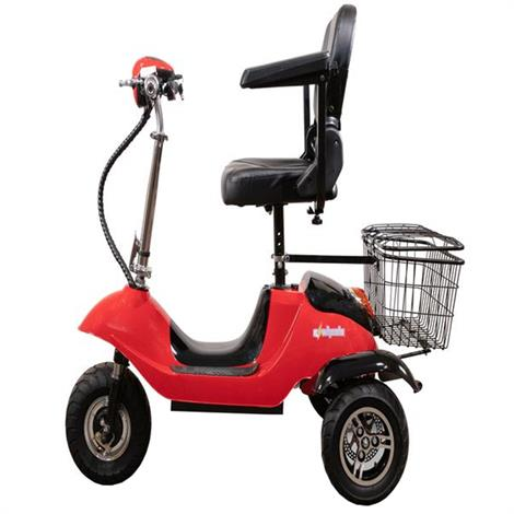 EWheels EW-20 Electric Mobility Scooter,Red,Each,EW-20