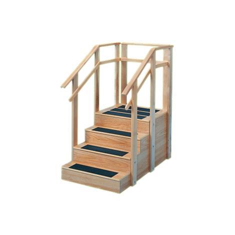 """Hausmann Straight Staircase,52""""L x 30""""W x 24""""H,Each,1567"""