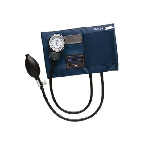 Mabis DMI CALIBER Aneroid Sphygmomanometers With Blue Nylon Cuff,Adult,Each,01-130-011