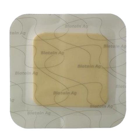 "Coloplast Biatain Ag Adhesive Foam Dressing,5"" x 5"" (12.5cm x 12.5cm),Each,9632"