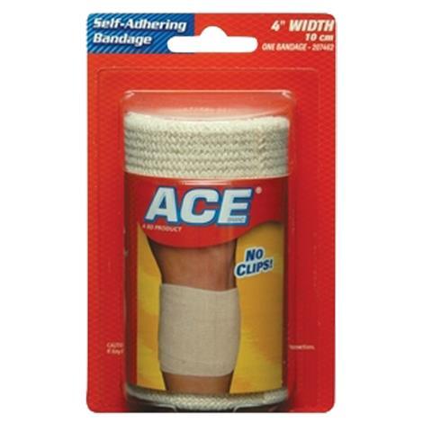 """BD ACE Self-Adhering Athletic Bandage,3""""W x 1-2/5yd L,72/Case,207461"""