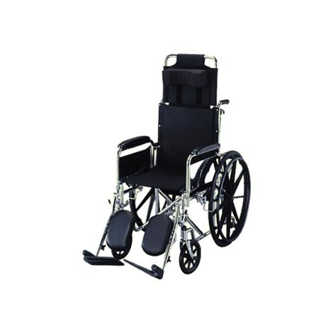 "ITA-MED Reclining Wheelchair,Seat 16""W,Each,RW16-400"