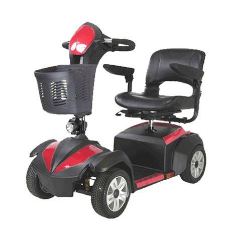 "Drive Ventura Four Wheel Standard Scooter,18"" Folding Seat,Each,VENTURA418FS"