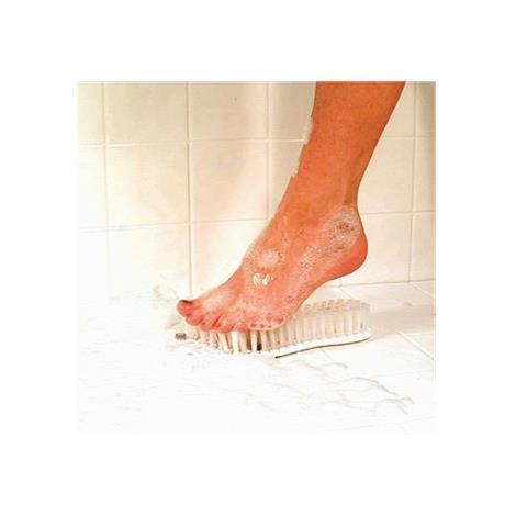 """Foot Brush,10""""L x 3""""W,Each,566390"""