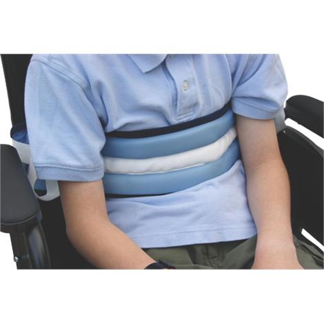 Medline Safety Soft Patient Security Belt,Two Piece With Hook-and-Loop Closure,Each,MDT822126
