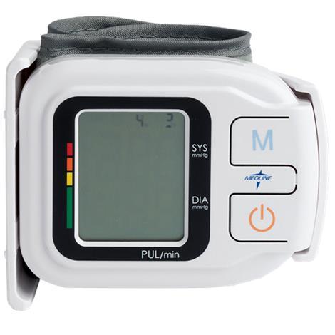 Medline Plus Digital Wrist Pressure Monitor,Cuff Style: Wrist,Each,MDS3003