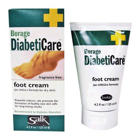 Salk Borage are Foot Cream,4.2oz,Tube,Each,40320