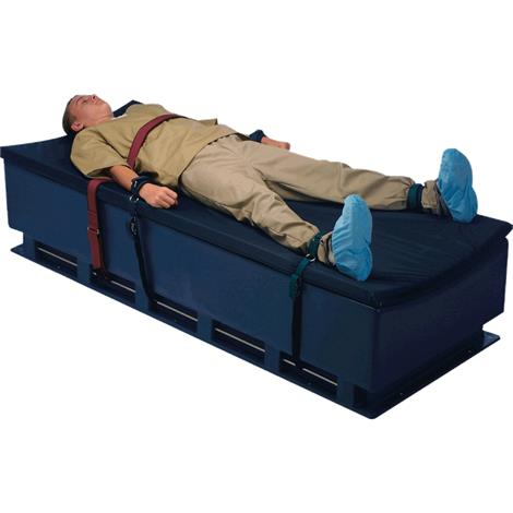 Humane Restraint Polypropylene Bed Restraint,Hook and Loop,Ankle,Bed Closure,Each,NBA-104