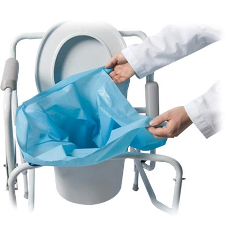 Cleanwaste Sani Bag Plus Commode Liner,Commode Liner,100/Case,650-100