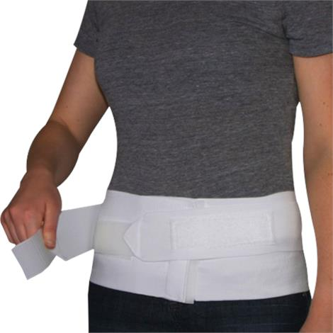 Core Triple-Pull Sacral Back Support Belt with Split Pad,Large,Each,SIB-6024-LRG