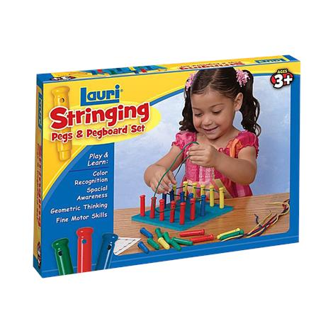 Lauri Stringing Pegs And Pegboard Set,Pegs And Pegboard,Each,2419