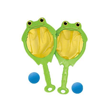 Melissa & Doug Froggy Toss Catch Net And Ball Game,24.5 x 20 x 12.25,Assembled,Each,6279