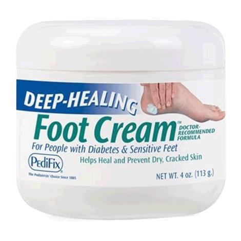 PediFix Deep Healing Foot Cream,4oz,Jar,Each,P3069