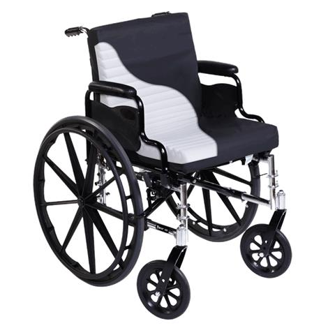 """Span America Short-Wave Wheelchair Seat and Back Cushion With Cover,16""""W,4/Case,SWAVE16-04"""